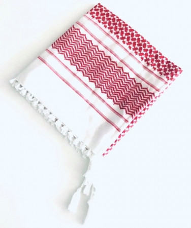Red Shimagh (Head Scarf)