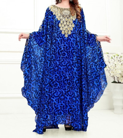 Stylish Kaftan with Handwork and Stone Work