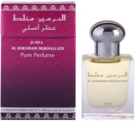 Al Haramain Mukhallath Fragrance 15ml Roll on Perfume Oil Floral Attar