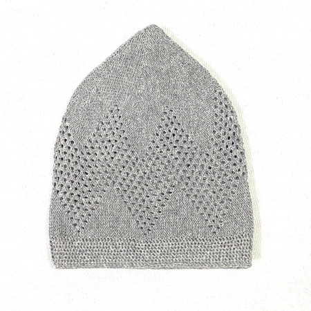 Turkey Sufi Knitting Cap Grey