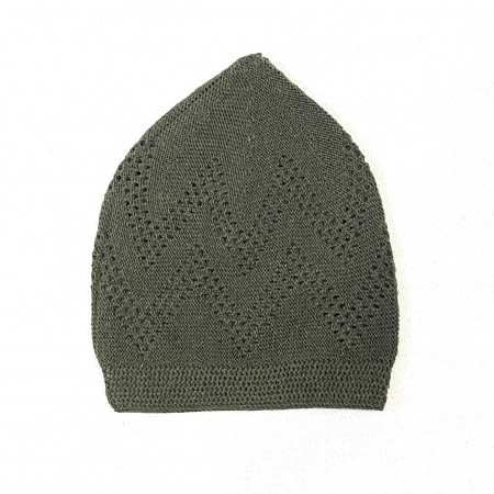 Turkey Sufi Knitting Cap Green #2