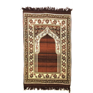 BROWN MUSALLA/JANAMAZ/PRAYER MAT