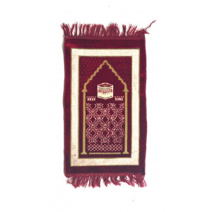 Kids Velvet Islamic Prayer Rug