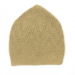 Turkey Sufi Knitting Cap Beige