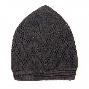 Turkey Sufi Knitting Cap Brown