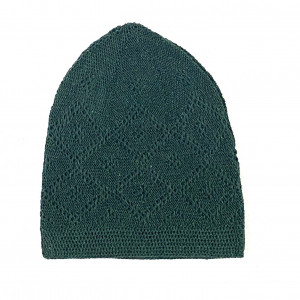 Turkey Sufi Knitting Cap Green