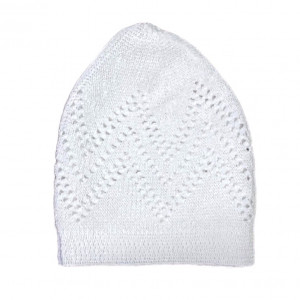 Turkey Sufi Knitting Cap White