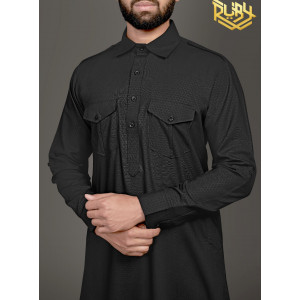 Black Mens Pathani