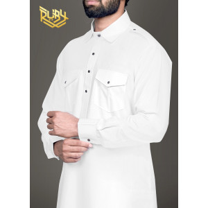 White Mens Pathani