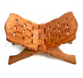 Wooden Folding Quran Stand / Rehal 15 Inch