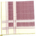 Cream Red Shimagh/Mens Scarf