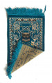 Kids Velvet Islamic Prayer Rug Blue